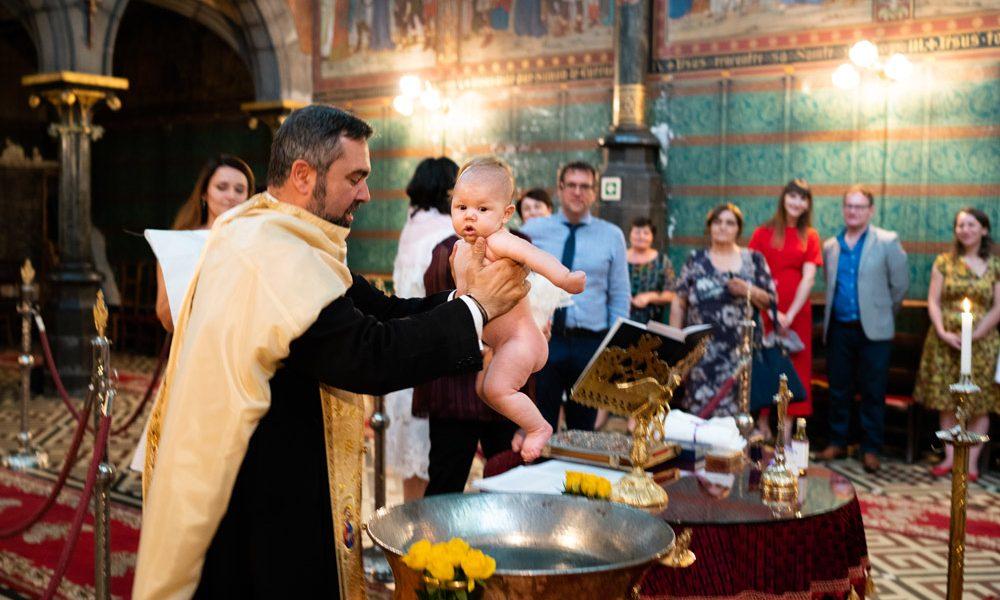 Orthodox Baptism Photography – Sofia