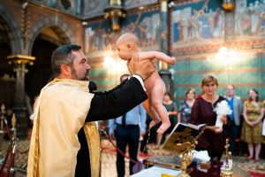 Orthotodx Baptism photography Burssels- Sofia