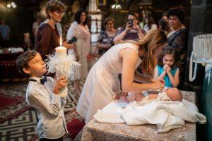 Orthotox Baptism photography Burssels- Sofia